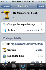No Screenshot Flash &#8211; Remove &#8220;Flash Effect&#8221; When Taking Screenshot