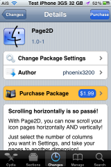 Page2D &#8211; Scroll SpringBoard Both Vertically and Horizontally [Video]