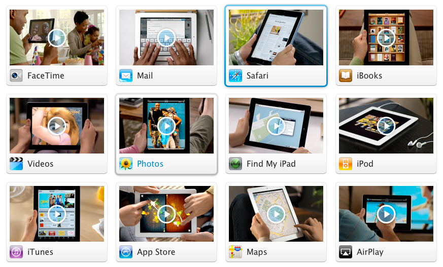 14 iPad 2 Guided Tour Videos From Apple