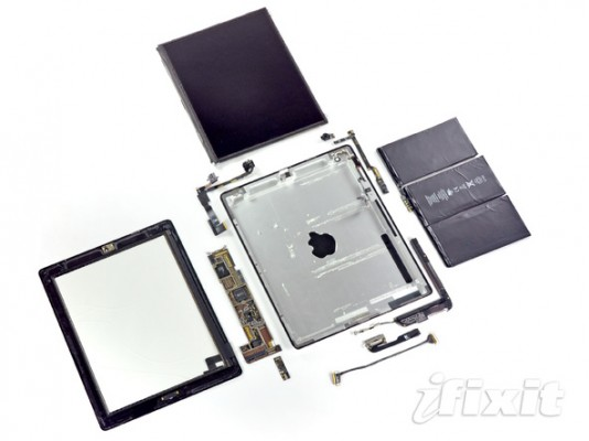 iFixIt&#8217;s iPad 2 Teardown [Video]