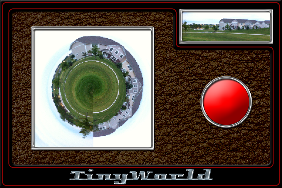 TinyWorld – Turn Pictures Into Their Own Little World