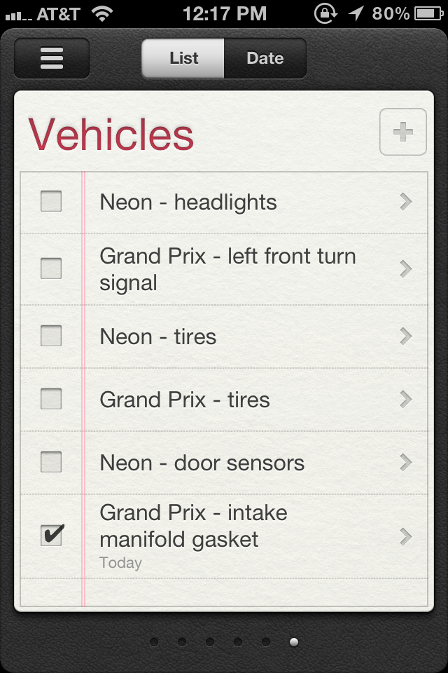 Reminders – New App From Apple in iOS 5