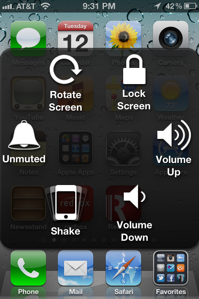 Broken Mute Switch, Power/Lock Button or Home Button? Fix with AssistiveTouch