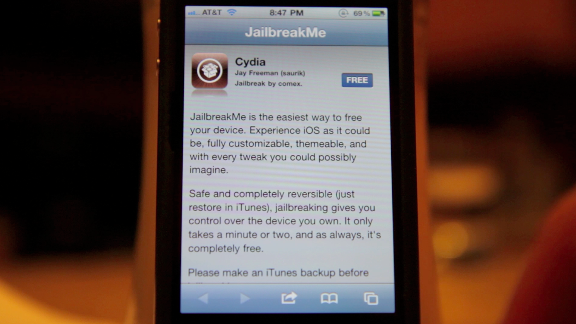 Easy Jailbreak For All Current Devices & Firmware – Jailbreakme.com