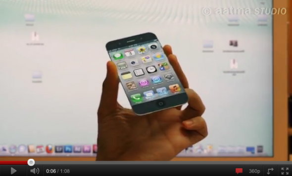 video di concetto di iPhone 5