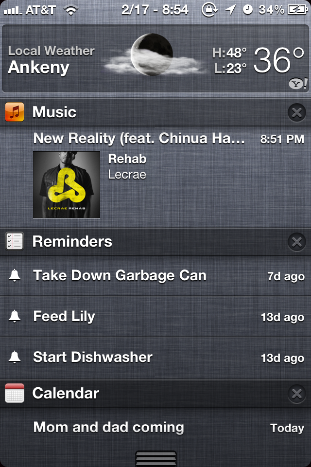 MusicBanners – Music Tracks in Notification Center