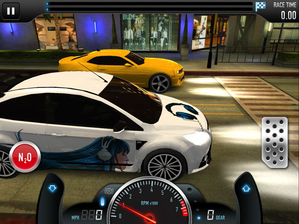 Warning: Free, Addictive Game – CSR Racing