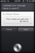 Siri Talking to Herself