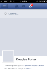 I had a few issues with loading but I think it was Facebook overload, not the app.