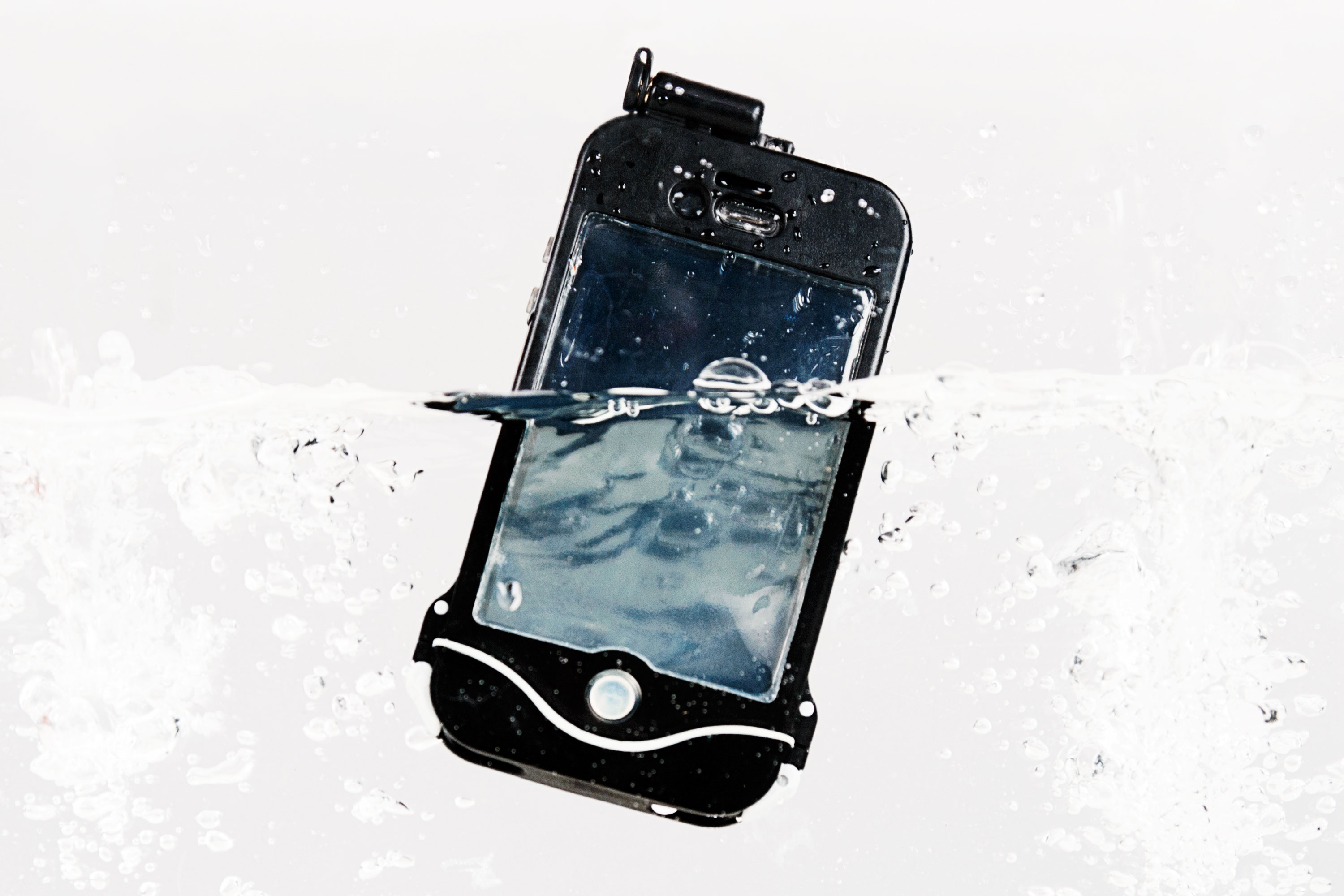 The iPhone Scuba Suit A.K.A. driSuit