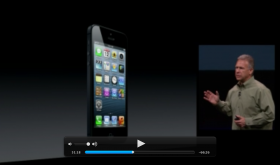 iPhone 5 Keynote Video