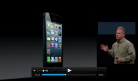 Watch iPhone 5 Keynote Video