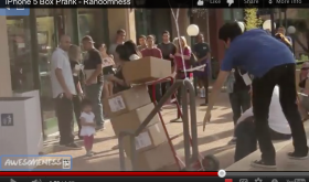 iPhone 5 Box Prank Video