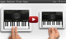 iPad mini Commercial: Piano