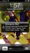 Emergency Alert Lockscreen