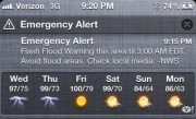 Emergency Alert Notification Center