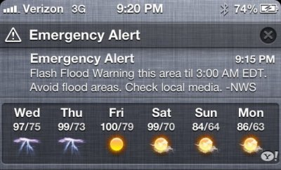 How to turn on emergency alerts