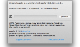 iPhone 5 Evasi0n jailbreak