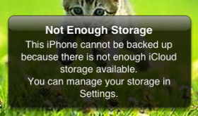 "My iPhone Says, ""Not Enough Storage"". What Should I Do?"