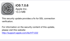 iOS 7.0.6 Update Details & How to Jailbreak