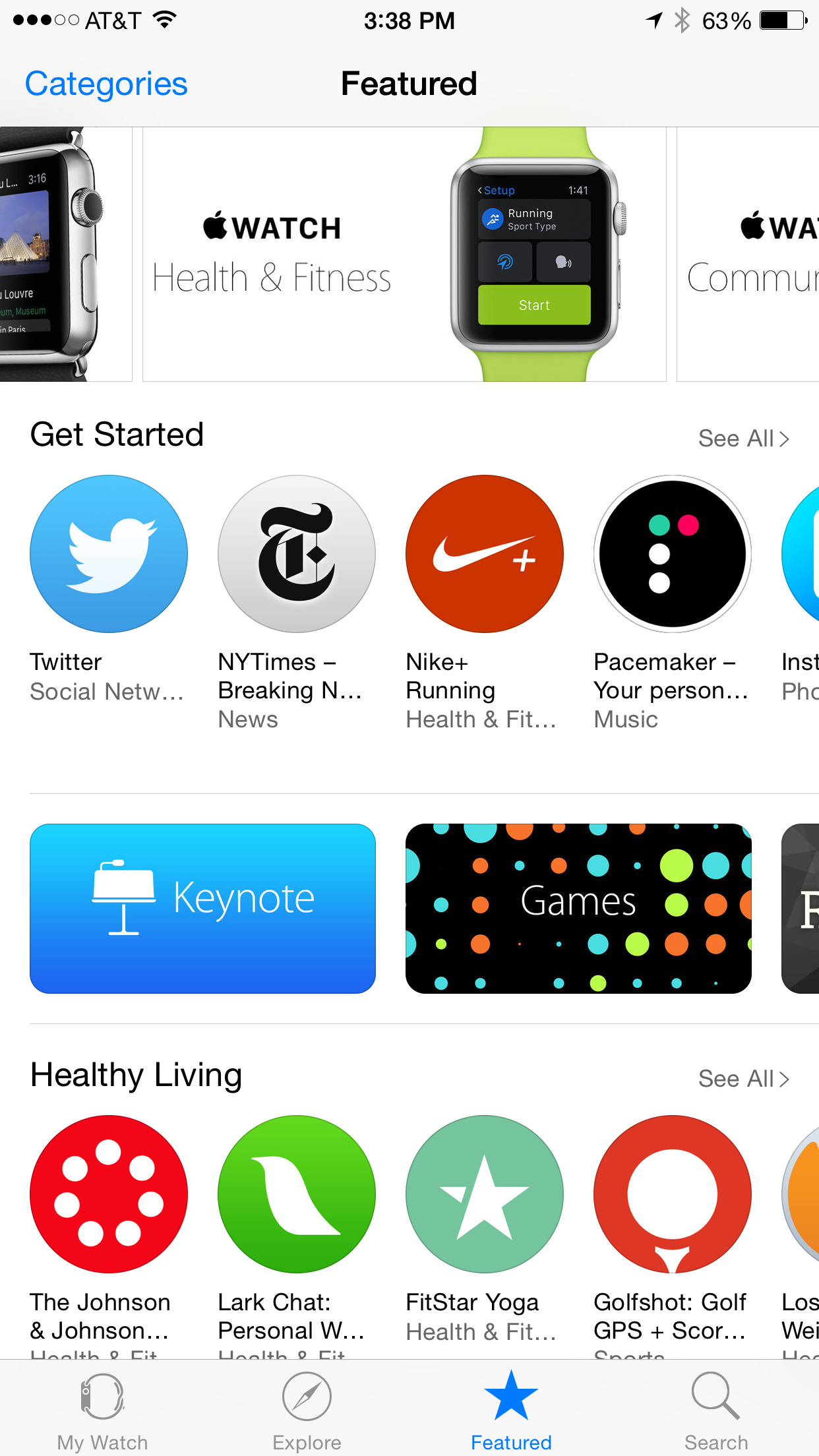 Apple Watch App Store Up and Running
